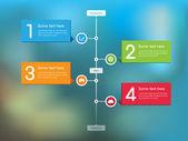 Stream Timeline Feed — Stock Vector