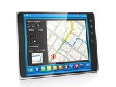 Mobil uygulamalar. tablet pc'ler gezinti syst için uygulamalar — Stok fotoğraf