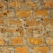 Limestone blocks wall — Stock Photo