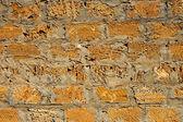 Limestone blocks wall — Stock Photo