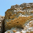 Large limestone rock — Stock Photo