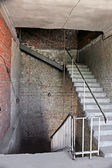 Staircase of old overage house — Stock Photo