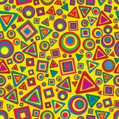 Seamless vector geometric texture — Stock Vector
