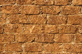 Wall with limestone blocks — Stock Photo