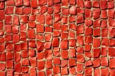 Detail of red mosaic — Stock Photo
