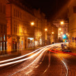 Prague at night. — Stock Photo