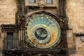 Orloj Astronomical Clock in Prague's Old Town Square — Foto Stock