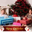 Kids with their christmas presents — Stock Photo #13982002