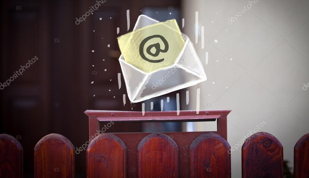 конверт с товарным знаком