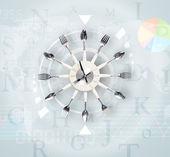 Uhren mit welt-zeit und finanzen-business-konzept — Stockfoto