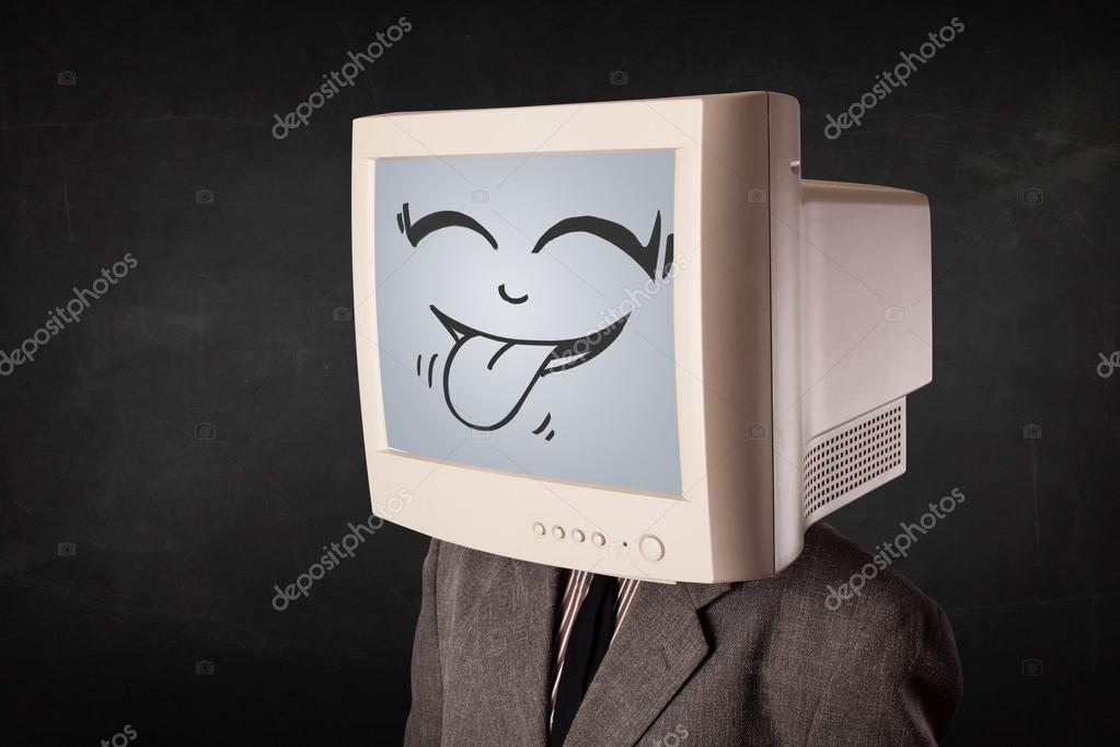 смайлик компьютер: