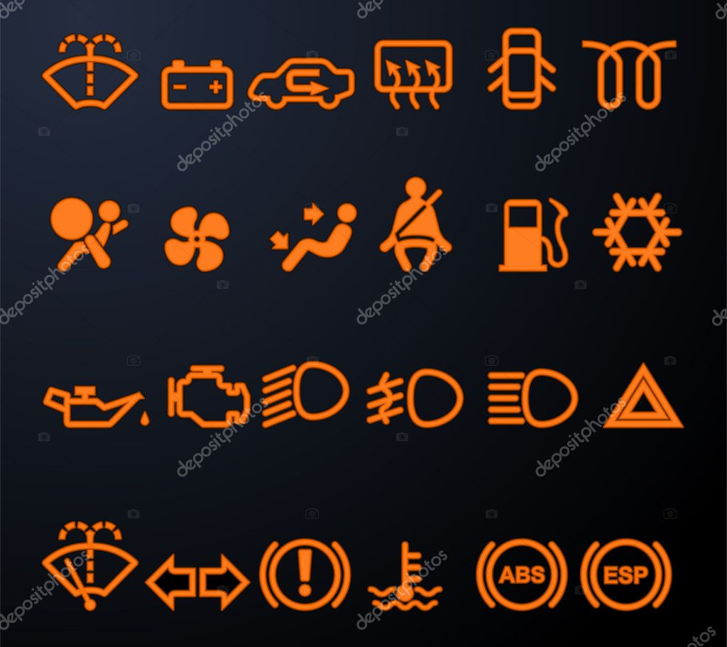 Vw Engine Warning Light Symbols Vw Free Engine Image For