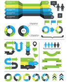 Infographics design elements and icons — Stock Vector