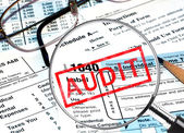 Tax Audit — Foto Stock