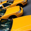 Taxi cabs — Stock Photo #13850550