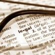Legal view - Foto Stock