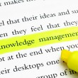 Stock Photo: Knowledge management