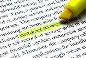 Customer service — Stockfoto
