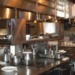 Restaurant kitchen — Stockfoto #13893567