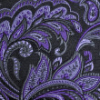 Purple paisley — Stock fotografie