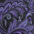 Purple paisley — 图库照片