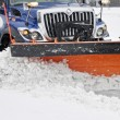 Snow plow — Foto de Stock