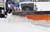 Snow plow — Stockfoto
