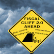 Stock Photo: Fiscal cliff 2.0