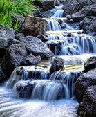 Misty waterfall — Stock Photo