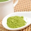 Matcha green tea — Stock Photo