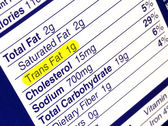 Trans Fat — Stock Photo
