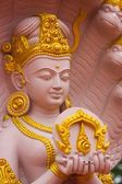 Thai style deva statue, Thailand — Stock Photo