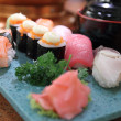Sushi Japan food — Stock Photo