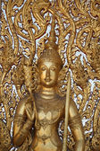 Design beautiful Thai temple gate. — Stock Photo