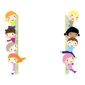 Children background — Stock Vector