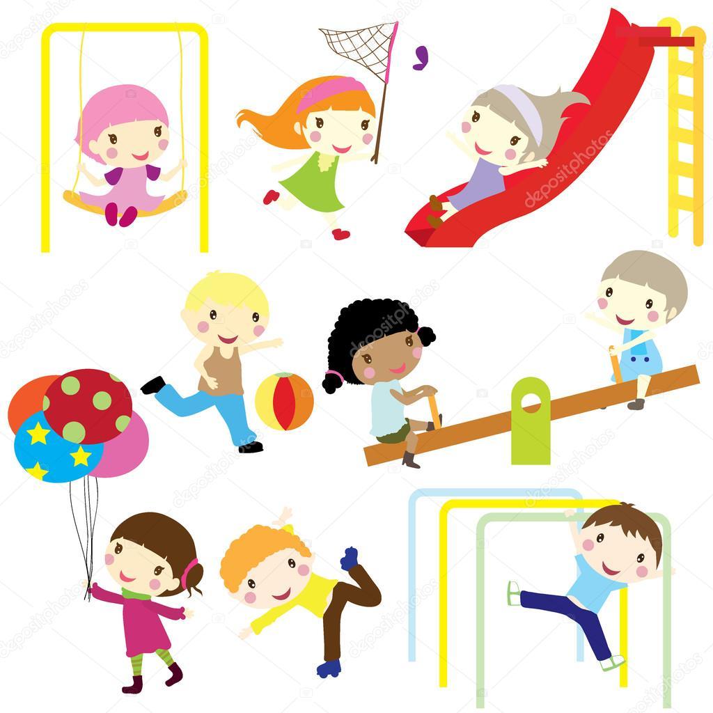 儿童活动 — 图库矢量图片 #19195111