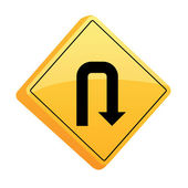 Letreros de carretera — Vector de stock
