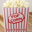 Fresh delicious popcorn — Stock Photo #19783825
