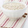 Healthy and delicious oatmeal ingredients — Stock Photo #29073473