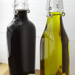 Olive oil and Balsamic vinegar — Stock Photo