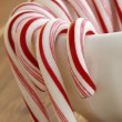 Sweet candy canes — Stock Photo