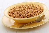 亲爱的美味和健康坚果麦片 — 图库照片