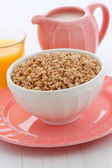 Delicious and healthy granola cereal — Stock Photo