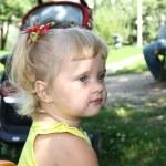 Portrait of beautiful little girl — Stock Photo #30147711
