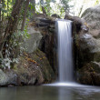 Stock Photo: Small waterfall in Crimea
