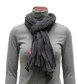 Black scarf — Stock Photo