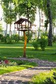 Spring in city park — Stock Photo