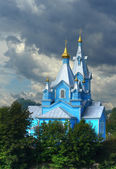 Orthodox church in Korets — Stock Photo