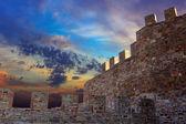 Castle wall — Stock Photo