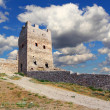 Stock Photo: Genocastle in Feodosia